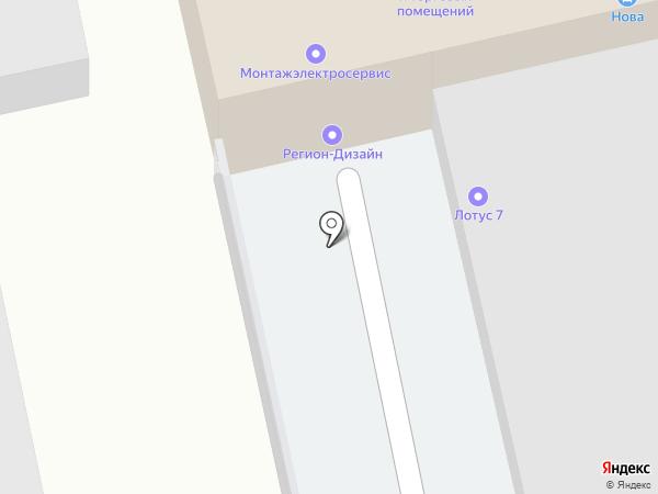 SuperMaster на карте Омска