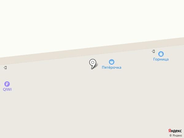Горница на карте Омска