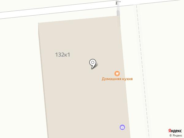 Кафе домашней кухни на карте Омска