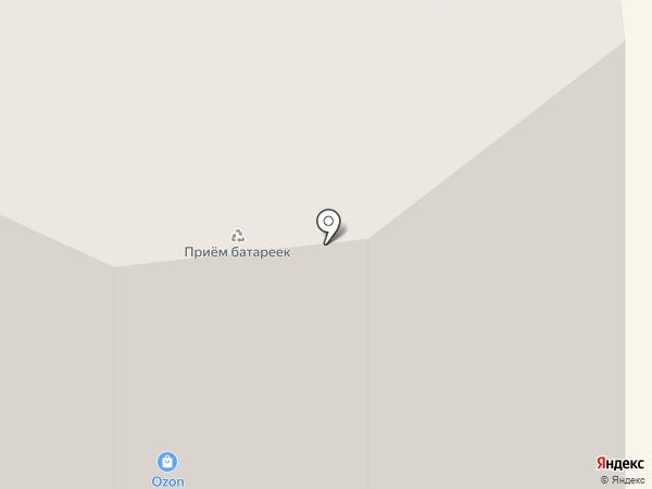Цирюльня №1 на карте Сургута