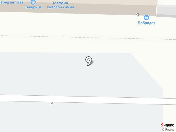 Магазин бижутерии и кожгалантереи на карте Омска