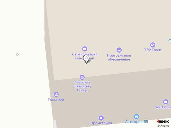 Nektarin Print на карте Омска