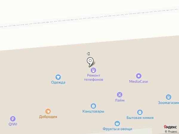 Салон оптики на карте Омска