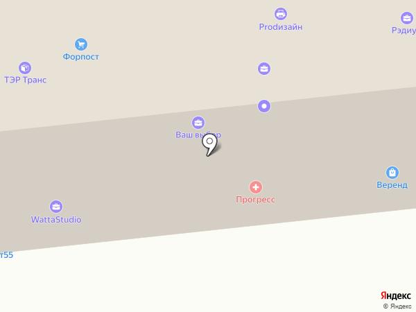 Вираж на карте Омска