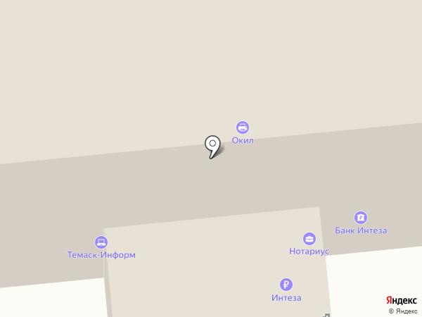 Визовый центр Италии на карте Омска