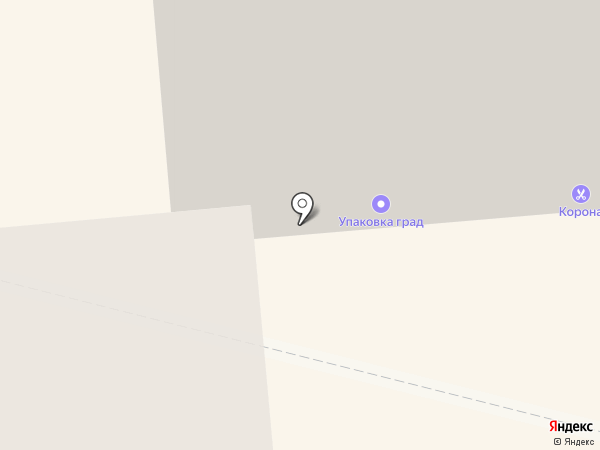 Упаковка град на карте Омска