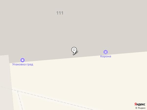 Корона на карте Омска