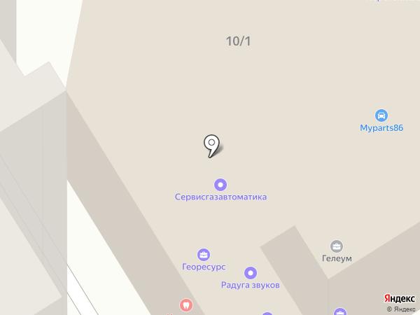 ЮРТАЙМ на карте Сургута