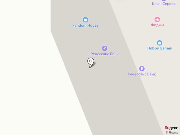 Ренессанс кредит на карте Сургута