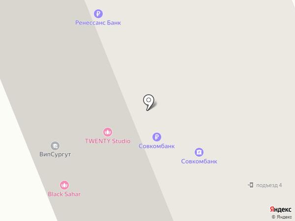 Мегаполис сервис на карте Сургута
