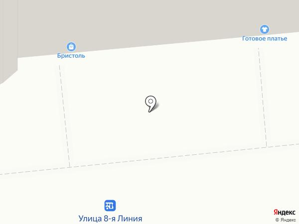 Магазин трикотажа и чулочно-носочных изделий на карте Омска