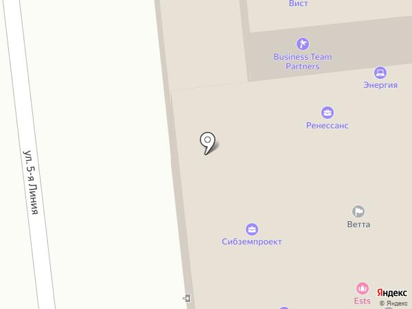 Абсолют-Упаковка на карте Омска
