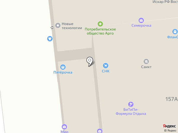 ЧЕПЕЦКИЙ, КПК на карте Омска