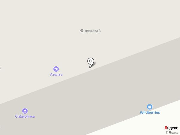 Сибирячка на карте Сургута