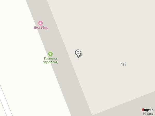 Строительный Двор на карте Сургута