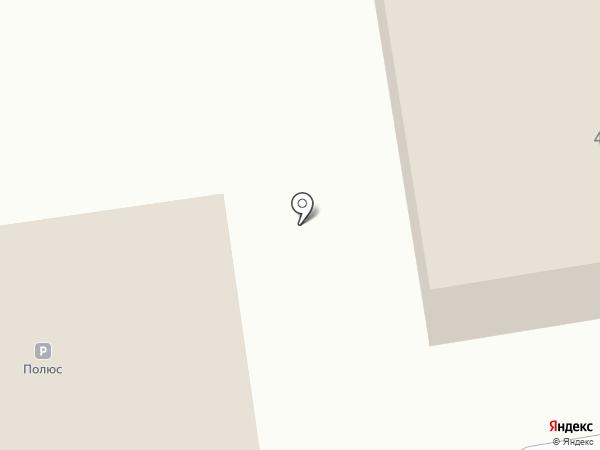 Полюс на карте Сургута