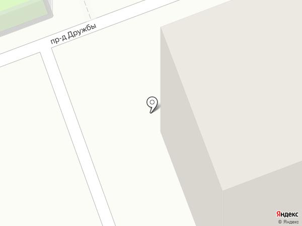 Неженка на карте Сургута