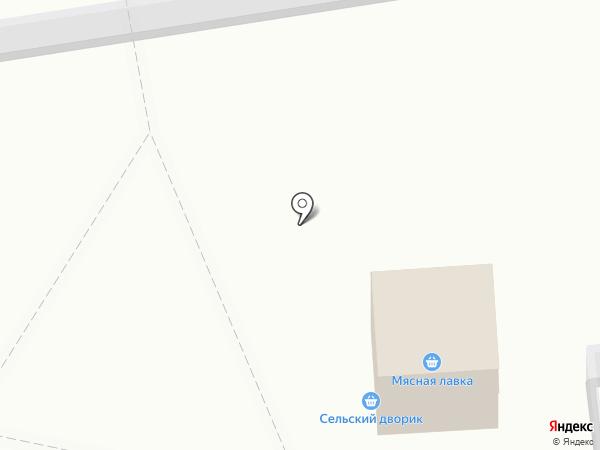 Сельский дворик на карте Омска