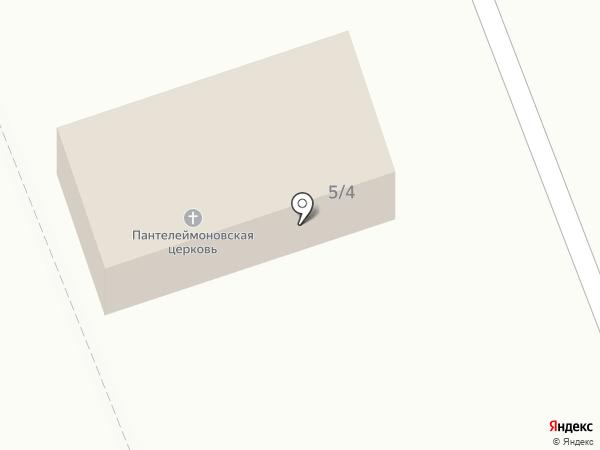 Храм святого Пантелеймона на карте Омска