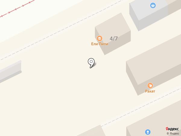 Сластелька на карте Омска