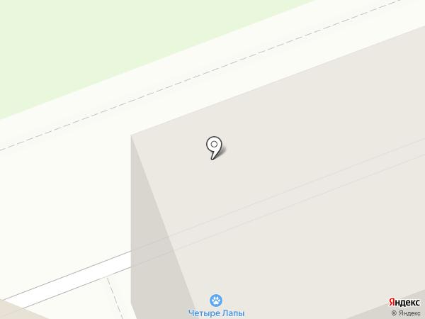 Четыре лапы на карте Сургута