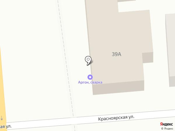 Богдашка на карте Омска
