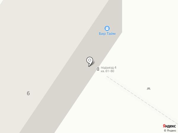 Эгир на карте Омска