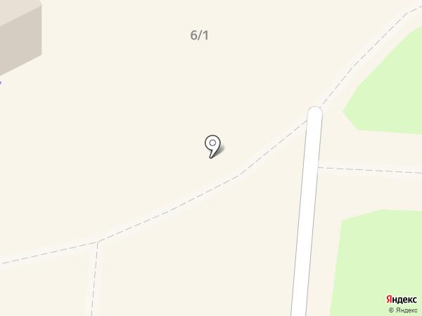 Пункт приема вторсырья на карте Омска