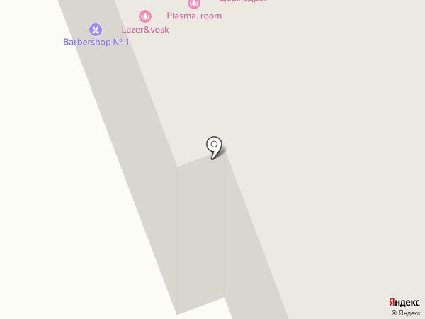 Цветник на карте Сургута