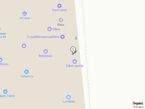 Теплый Дом на карте Омска