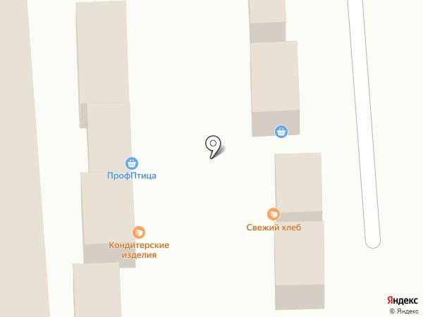 Киоск по продаже куриной продукции на карте Омска