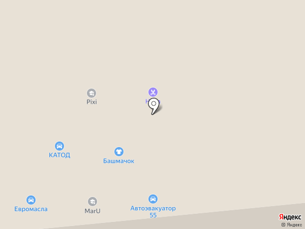 БЛАНКОМ на карте Омска