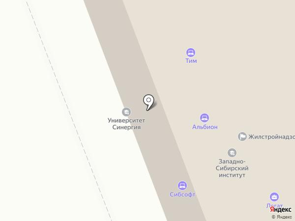 Барристер на карте Сургута