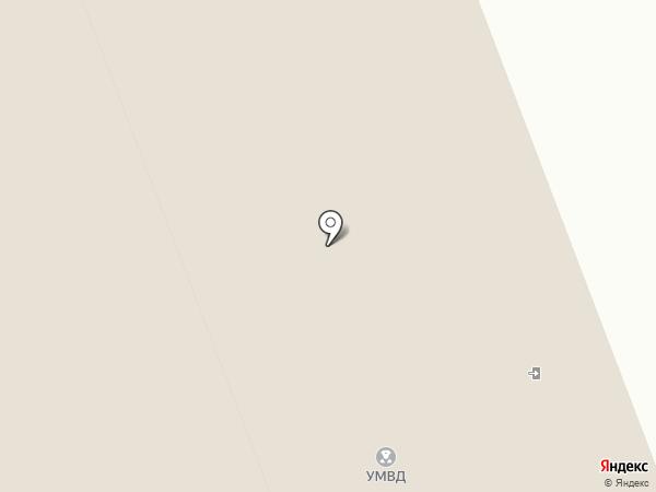 Изолятор временного содержания №1 на карте Сургута