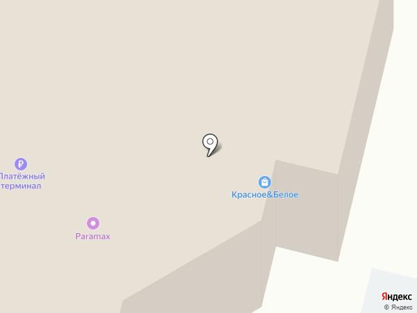 Рубин на карте Сургута