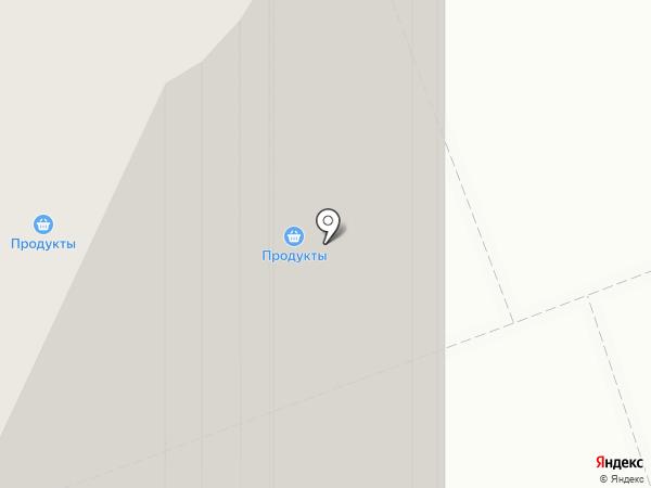 Глиссада на карте Сургута