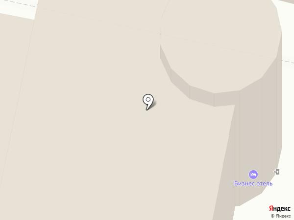 Бизнес отель на карте Сургута
