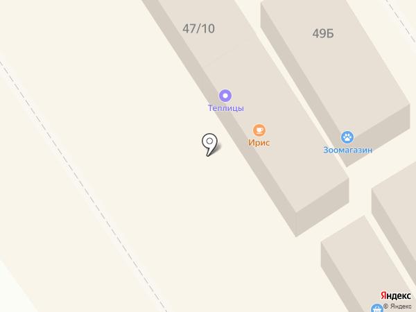 Ирис на карте Омска
