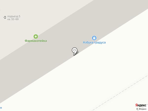 Штурман на карте Омска