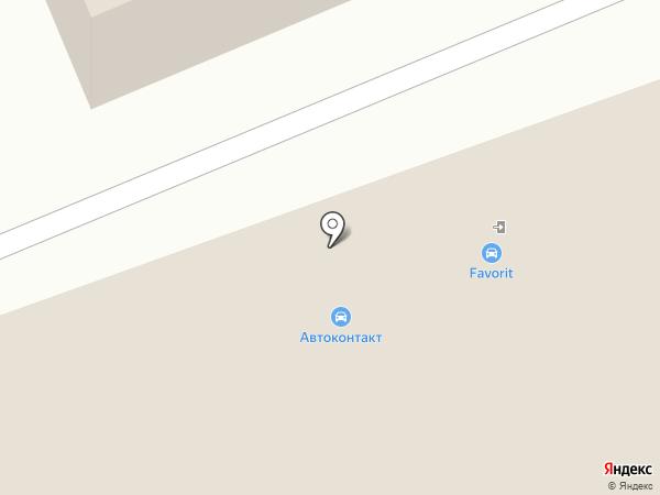 ИКС на карте Сургута