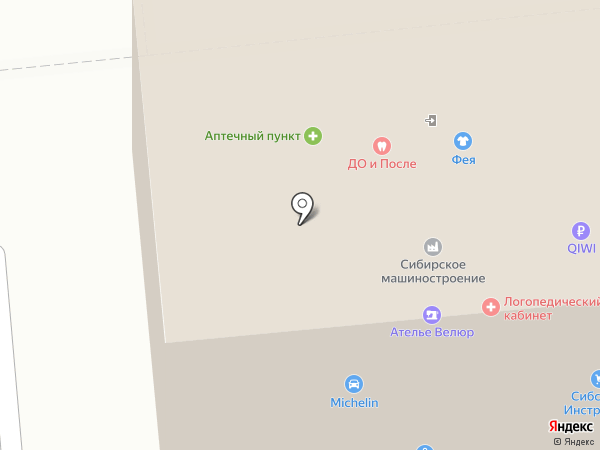 Центр-книга на карте Омска