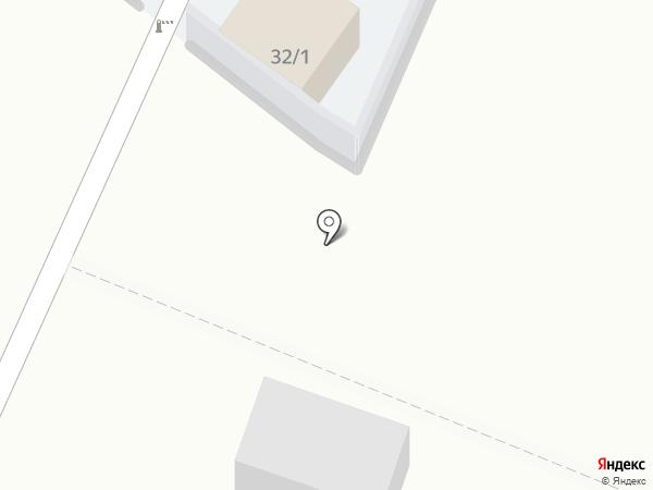 Автостоянка на карте Омска
