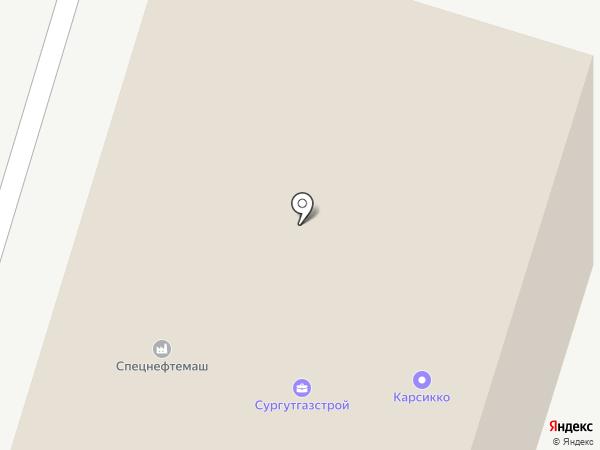 ВнешРегионТорг на карте Сургута