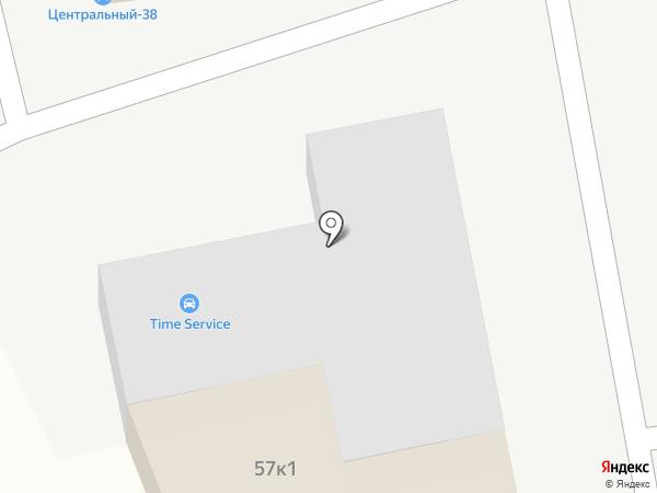 Тайм Сервис на карте Омска