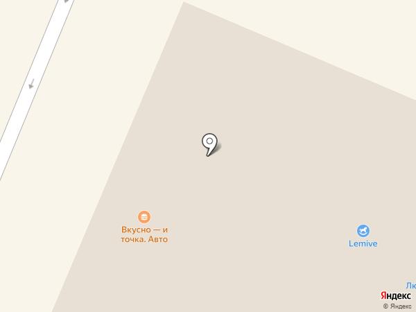 Ласка на карте Сургута