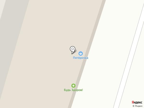 TRAVA на карте Сургута