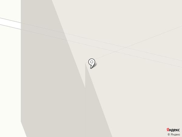 Мирный на карте Сургута