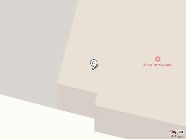 Золотое Сердце на карте Сургута