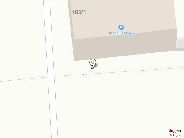 Докмастер на карте Омска