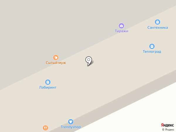ПСВ на карте Сургута